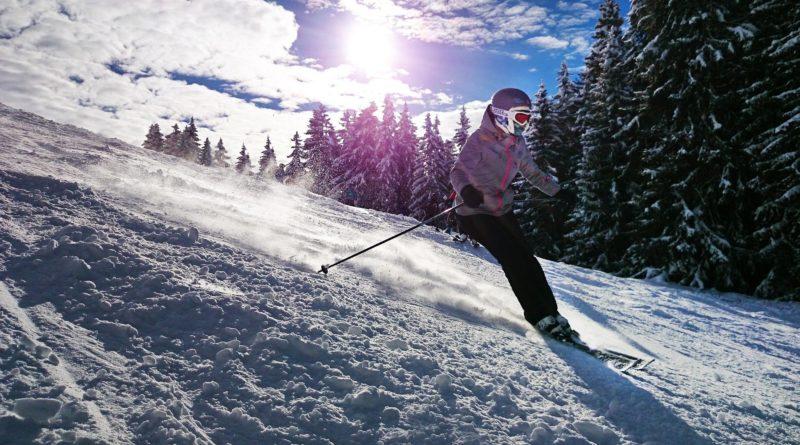 Skier dans les Alpes à proximité de Lyon